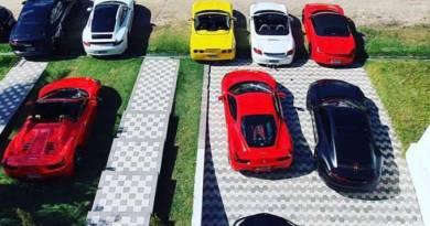 Festa com Ferraris, Porsches e Lamborghinis causa revolta em condomínio