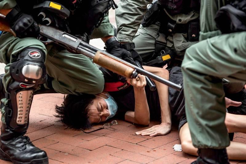 HONG KONG CHINA POLITICS UNREST