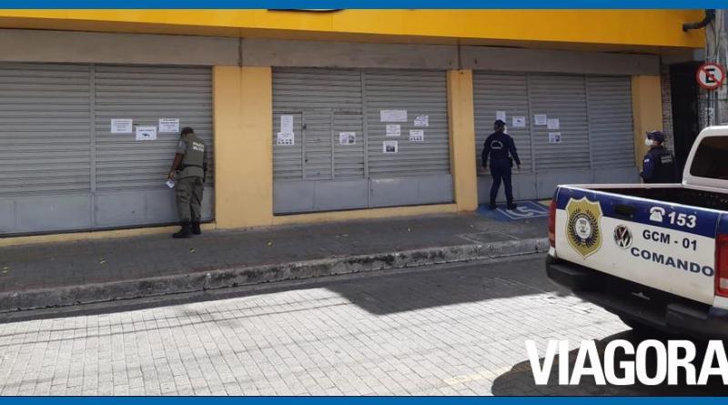 Guarda Municipal fechou 249 estabelecimentos no fim de semana na capital