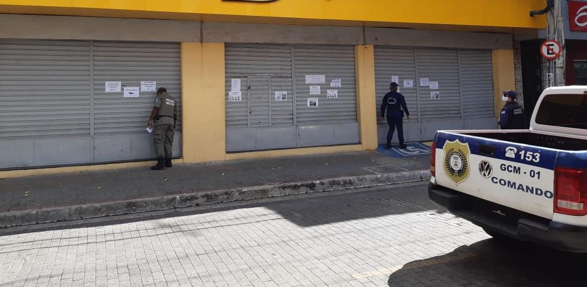 Guarda Municipal fechou vários estabelecimentos