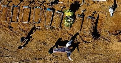 Brasil registra recorde de mortes em 24h e total de vítimas da covid supera 90 mil