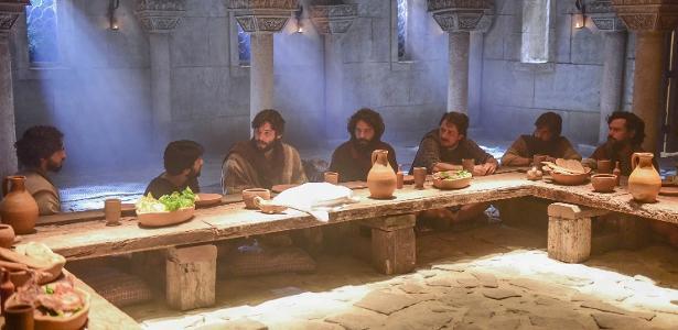 """Record exibe Santa Ceia na novela """"Jesus"""""""