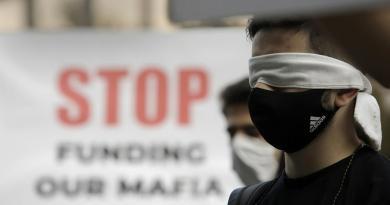42 dias de protestos na Bulgária