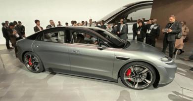 Sony pretende começar a testar carro elétrico nas ruas do Japão até março de 2021