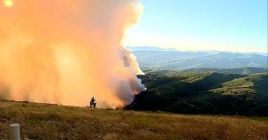 Incêndio está controlado mas ameaça mantém se em Oleiros