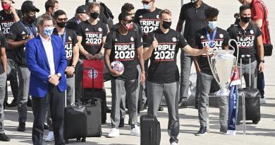 Jogadores do Bayern já regressaram a casa