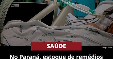 No Paraná, estoque de remédios sedativos para intubação está chegando ao fim