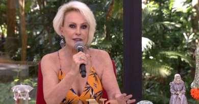 "Ana Maria Braga volta à TV: ""Pneumonia foi um susto"""