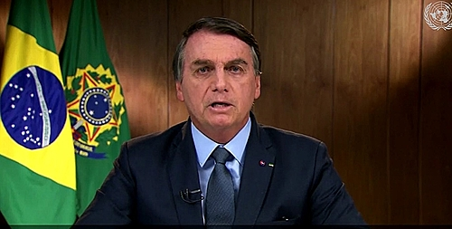 Bolsonaro's UN address tries to explain Brazil's environmental disaster