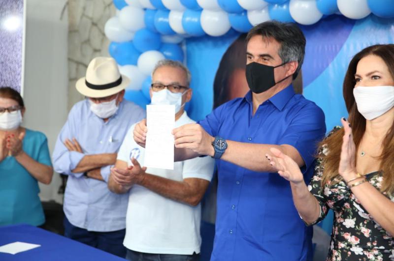 Oficialização da filiação de Elmano ao Progressistas