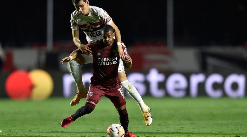 """Pablo revela ainda sentir dores e diz que """"fez um sacrifício"""" para jogar contra o River"""
