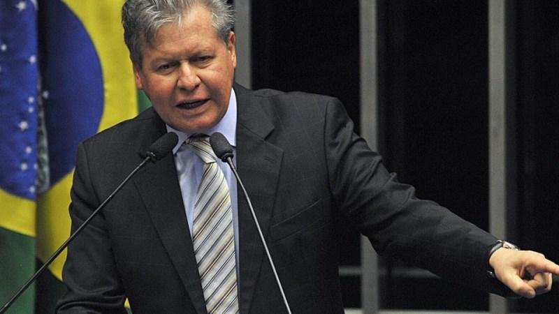 TCE AM recomenda novos certames para a prefeitura de Manaus: prefeito de Manaus, Arthur Virgílio, em pronunciamento