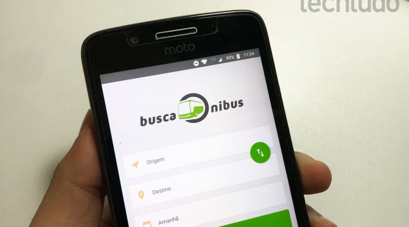Como encontrar passagens de ônibus pelo celular com o app BuscaOnibus