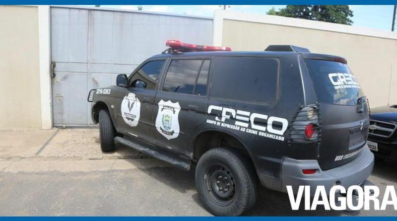 GRECO prende policial militar durante operação em Teresina