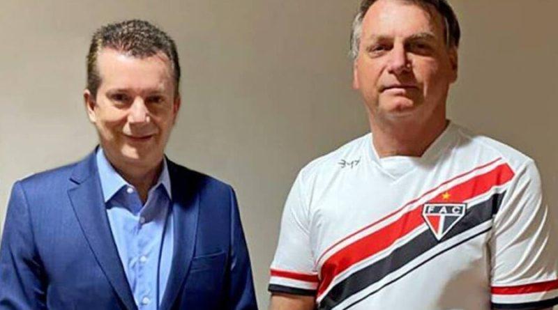 Russomanno é amigo de velha data e estou pronto para ajudá lo, diz Bolsonaro