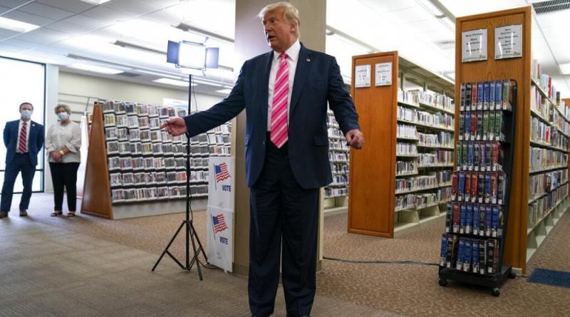 """""""Votei num tipo chamado Trump"""""""