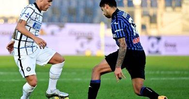 Atalanta e Inter de Milão empatam e perdem a chance de colar no líder