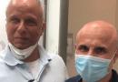 Dudu Braga celebra resultado de tratamento contra câncer