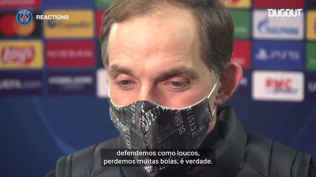 """""""Fizemos o que era necessário"""", diz Tuchel após vitória do PSG na Champions"""
