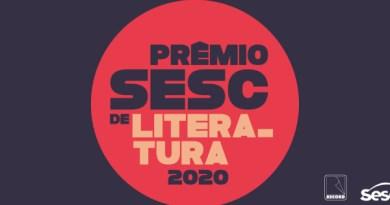 Prêmio Sesc de Literatura lança livros vencedores de 2020 em evento virtual