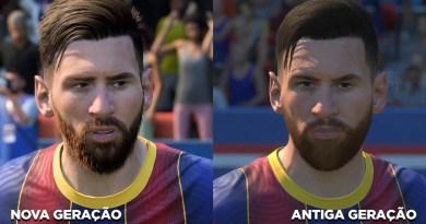 FIFA 21: veja a comparação entre as versões da antiga e da nova geração