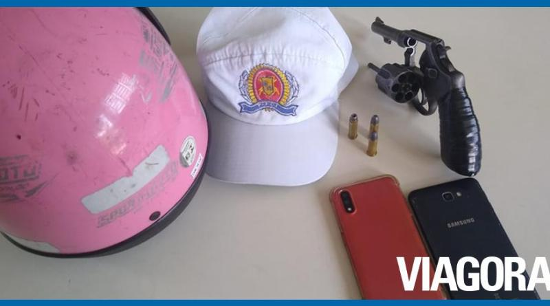 Adolescentes são apreendidos com arma de fogo na zona Leste de Teresina