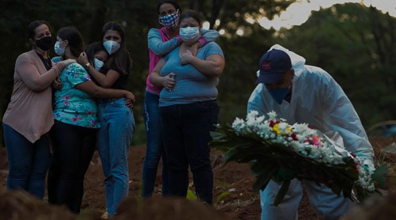 Brasil ultrapassa marca de 4 mil vidas perdidas para a Covid 19 em 24 horas