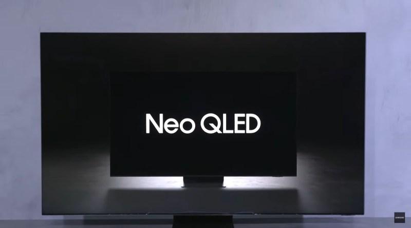 Samsung anuncia novas TVs Neo QLED no Brasil e mais TVs do lineup de 2021
