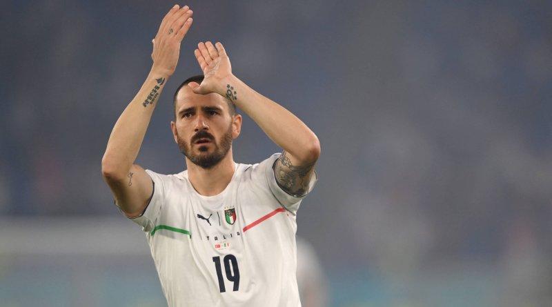 """Bonucci elogia bom ambiente no vestiário da Itália: """"Maior espírito que já vi"""""""