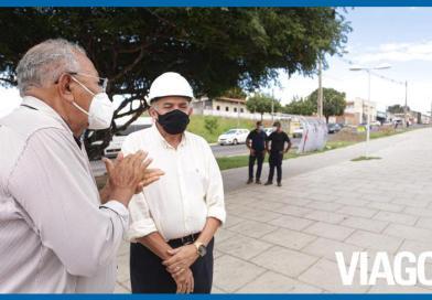 Dr. Pessoa vistoria execução de obras na zona Sudeste de Teresina