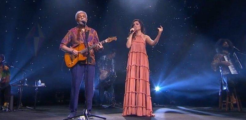 Gilberto Gil e Juliette se emocionam em live junina: 'É a nossa alma dançando forró' – Jovem Pan