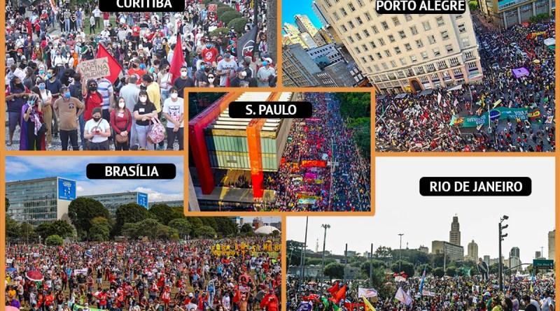 Maioria discorda da Copa América e aprova atos contra governo Bolsonaro