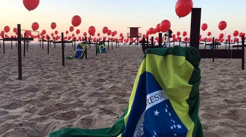 O Brasil a um dia das 500 mil mortes pela covid 19