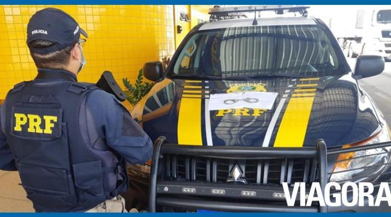 Suspeita de estelionato é presa pela PRF na cidade de Floriano