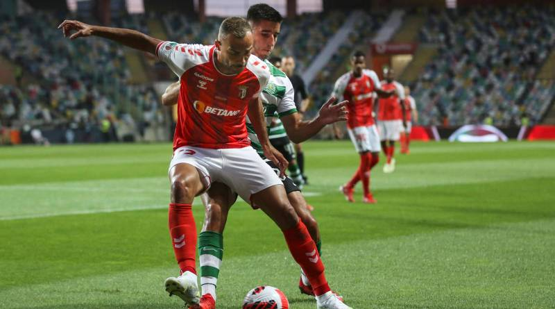 Sporting vence de virada o Braga e leva a Supercopa de Portugal