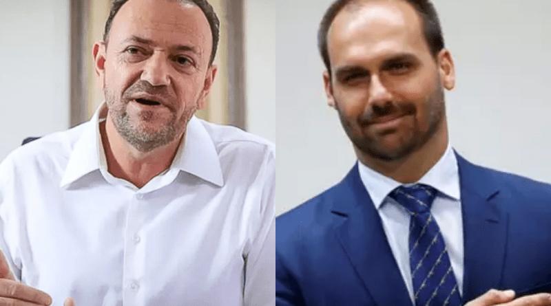 Araraquara rejeita provocação de Eduardo Bolsonaro contra o prefeito Edinho Silva   Hora do Povo