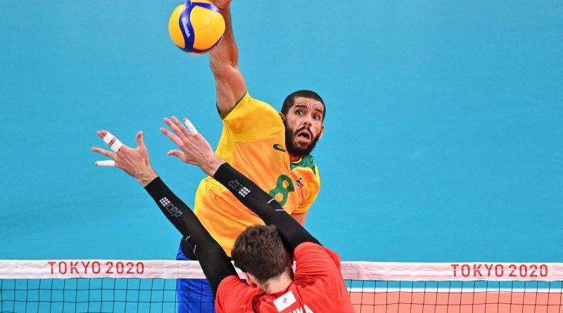 Brasil x ROC: veja onde assistir à partida das semifinais do vôlei masculino nas Olimpíadas