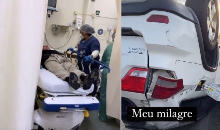 Cantor Giovani, dupla de Gian, sofre acidente de carro em São Paulo – Jovem Pan