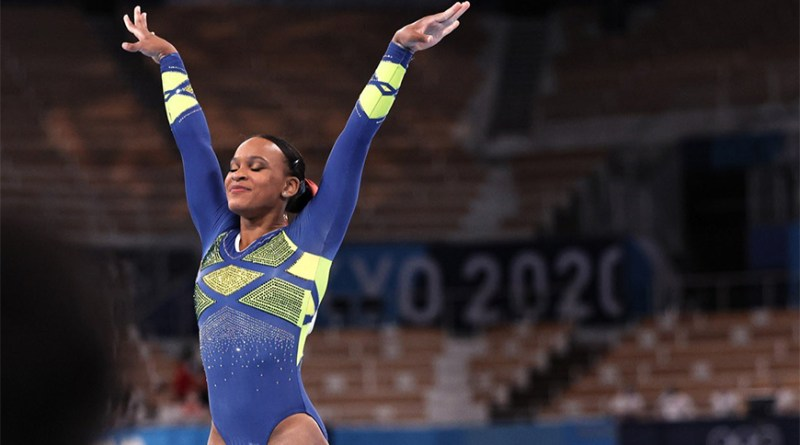 Com duas medalhas, Rebeca Andrade fez história nas Olimpíadas de Tóquio   Hora do Povo