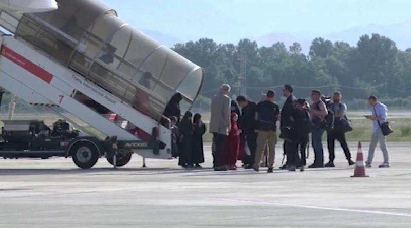 Famílias do Daesh repatriadas