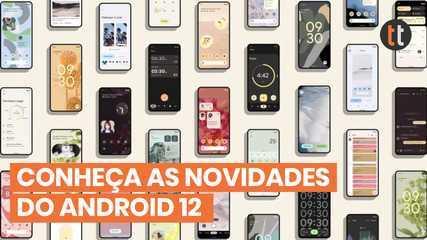 NOVO ANDROID 12   CONHEÇA AS NOVIDADES!