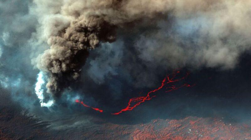 La Palma: lava aumenta e especialistas temem abertura de nova boca