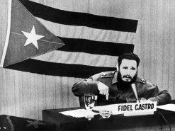 Fidel discursando em 1962.