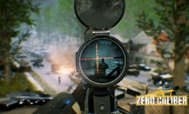 VR шутер zero caliber