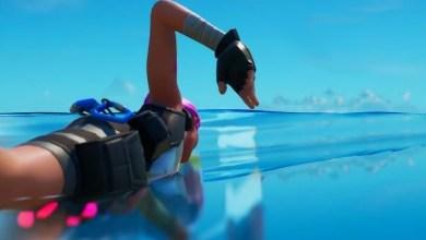 Как Выполнить Испытание на Время для Пловцов в Рыдающей Роще или Коралловой Крепости Фортнайт