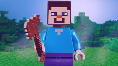 """Minecraft Lego Стоп Моушн Видео Показывает """"Преступление"""" Стива"""