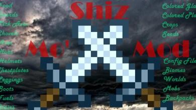 Minecraft — Mo' Shiz Mod (Новые Блоки, Оружие, Броня +)