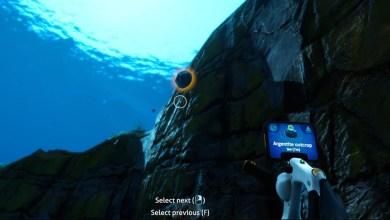 Subnautica: Below Zero — Мод, Показывающий Расстояние до Минералов