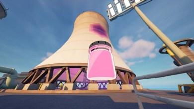 Где Найти Пузырьки с Цветом Обнимательный Розовый в Гигантских Градирнях Фортнайт