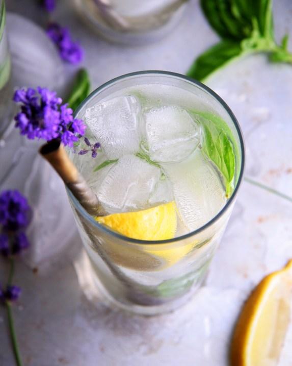 Summer Garden Gin Fizz